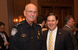 Governor Doug Ducey with William K. Brooks
